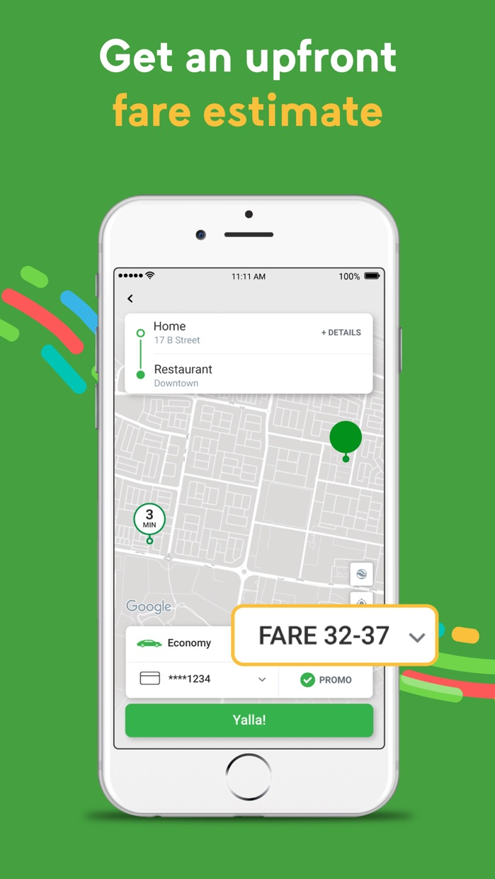 Careem كريم - Car Booking App Screenshot