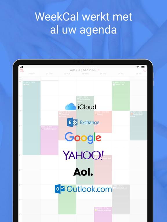 WeekCalendar - Cloud Kalender iPad app afbeelding 3