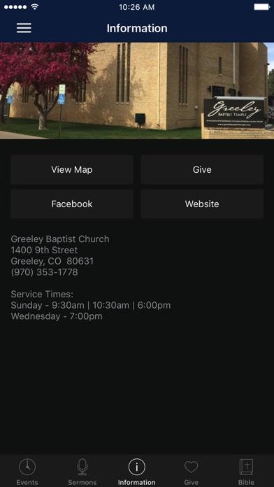 点击获取Greeley Baptist Church