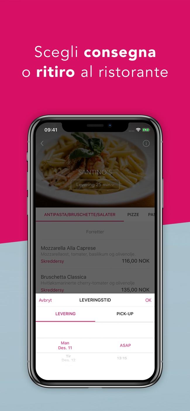 foodora - piatti deliziosi Screenshot