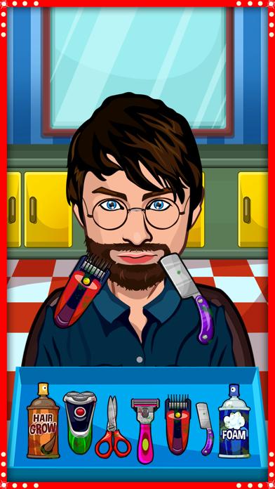 Celebrity Shave Hair Salon Screenshot on iOS