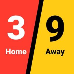 Scoreboard - Score Keeper Card