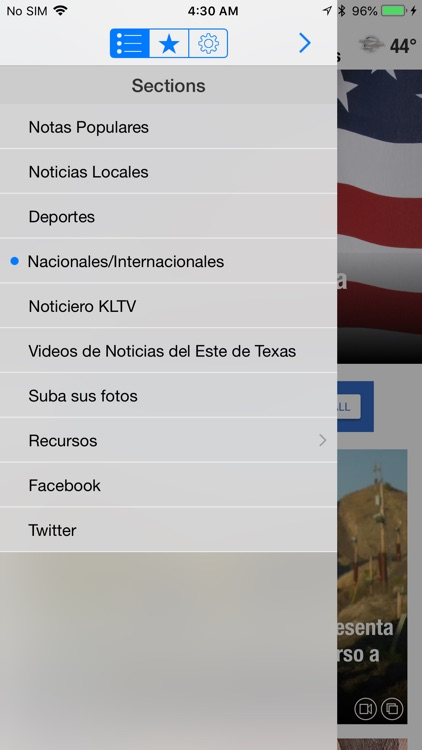KLTV y KTRE Noticias screenshot-1