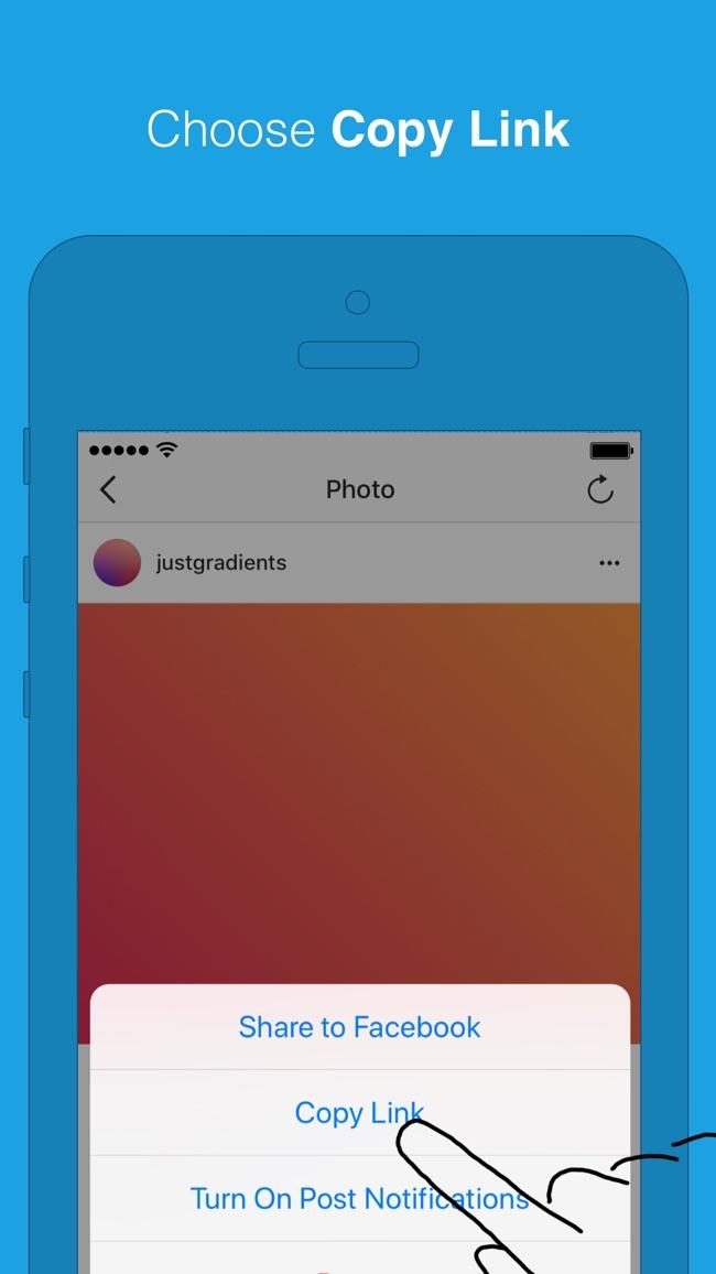Repost for Instagram Screenshot