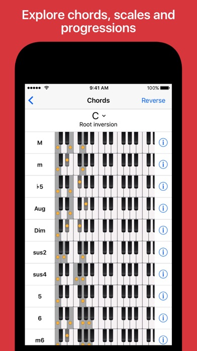 Piano Chords And Scales By Sincere Apps Ios United States