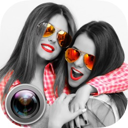 Color effects photo editing – black and white