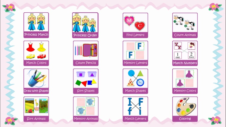 Baby Girl Laugh & Learn Shapes Colors ABC Games