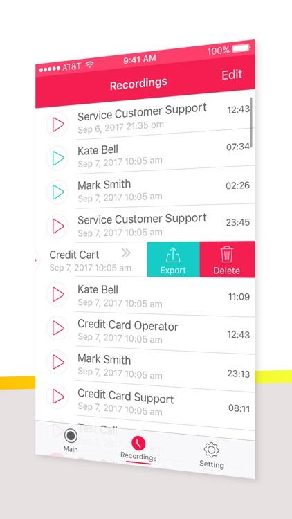 Super Call Recorder screenshot-4
