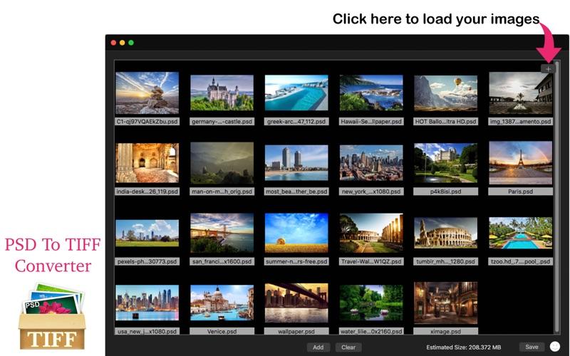 PSD To PNG Converter - Convert Image File screenshot 1