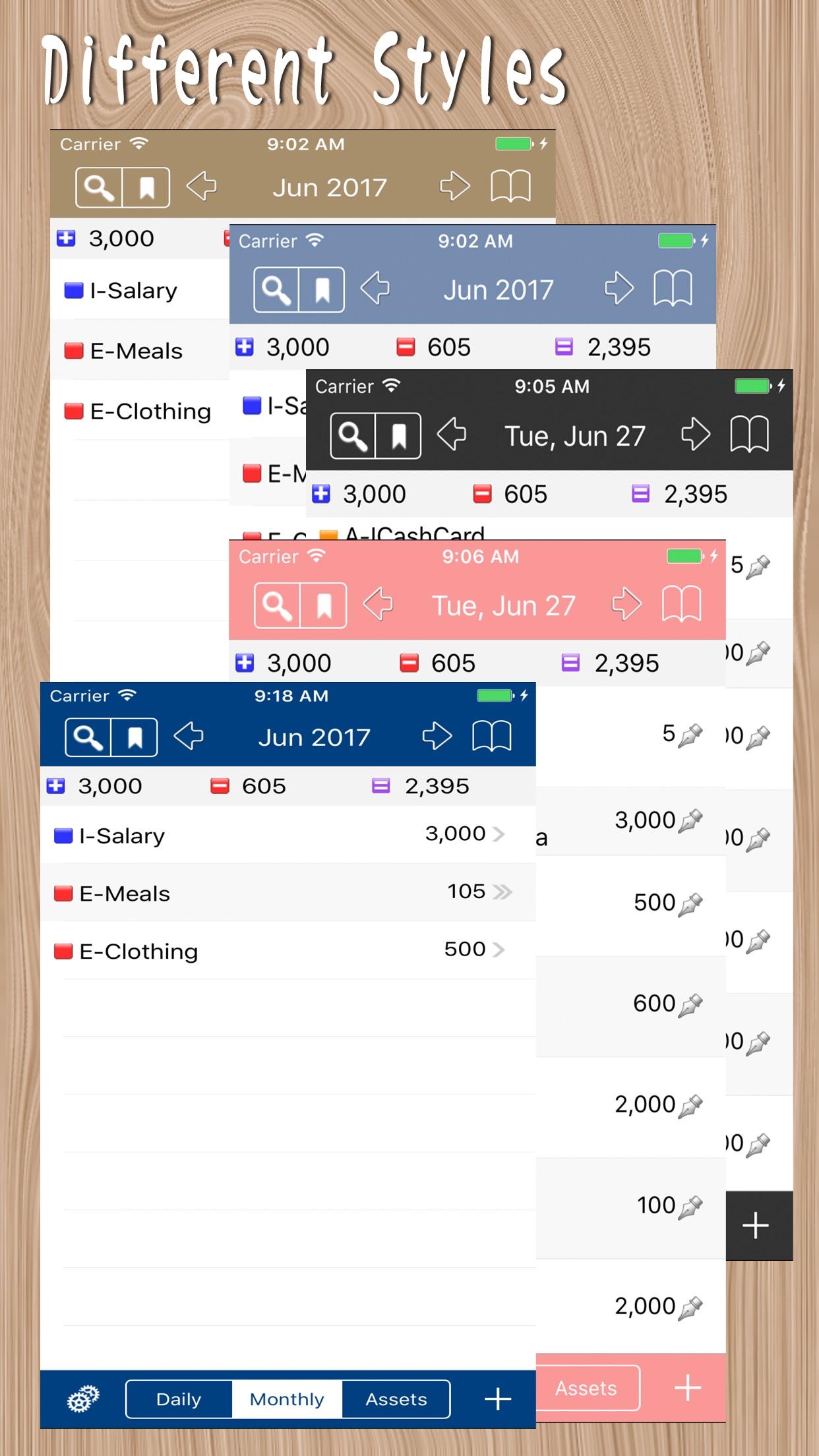 MyAsset - My Accounting Book Screenshot