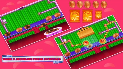 Chips Factory Cooking Games screenshot one