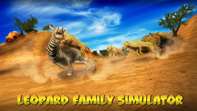 Leopard Family Simulator screenshot 1