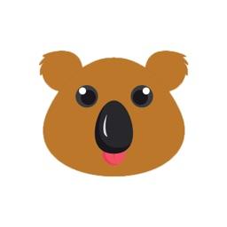 Cute Koala Bear emoji
