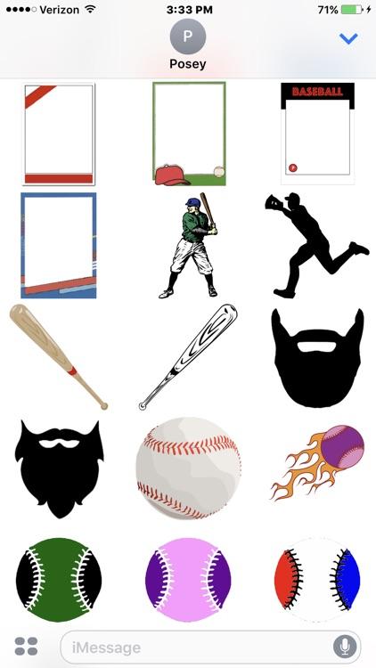 Baseball Sticker Pack Experience screenshot-3