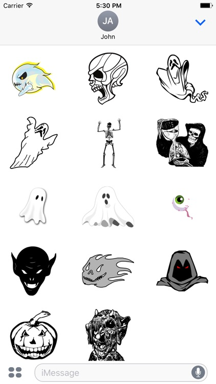Paranormal Ghost Stickers