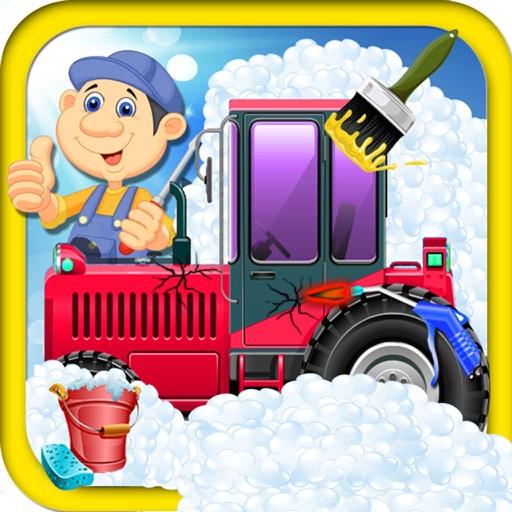 Kids Tractor WorkShop - kids game