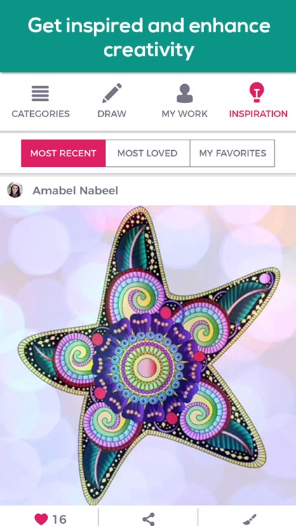Coloring book for adults iColor & coloring pages screenshot-4
