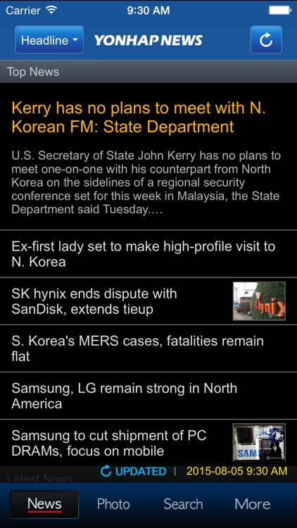 Yonhap News(English)