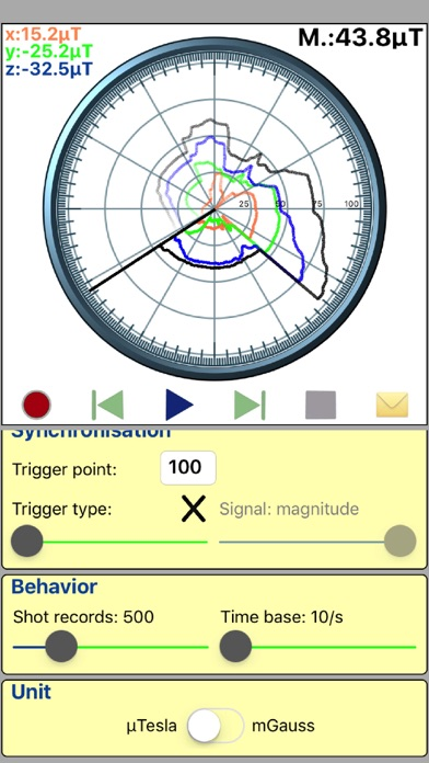 Positive Reviews: Gauss Tesla Meter - by Stephane Ameau - Tools Category -  2 Reviews - AppGrooves: Get More Out of Life with iPhone & Android Apps