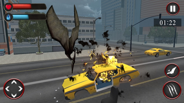 Pterodactyl Simulator: Dinosaurs in the City! screenshot-3