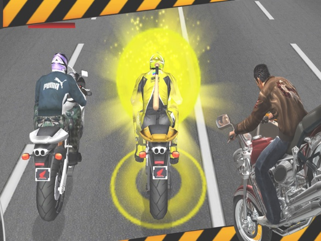 Bike Attack: Crazy Moto Racing, game for IOS