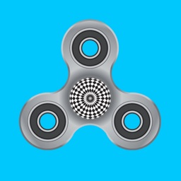 Fidget Spinner - Spinner With Optical Illusion