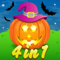 Codes for Four in One Halloween Activity games for Kids Hack
