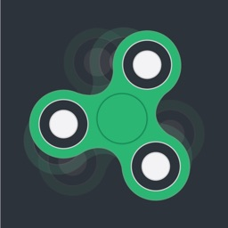 Fidget Spinner - Tap & Spin with Hand Finger