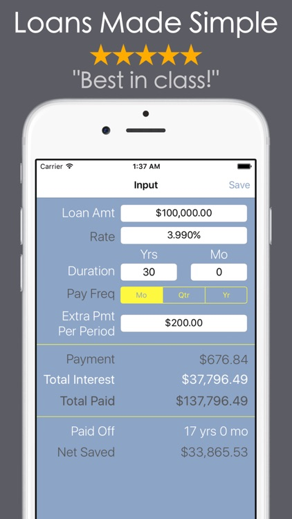 take the stress out of your loan with these easy to use calculators rh appadvice com