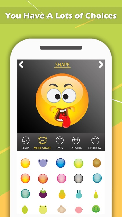 Emoji Maker - Create Personal Chat Emojis,Smiley