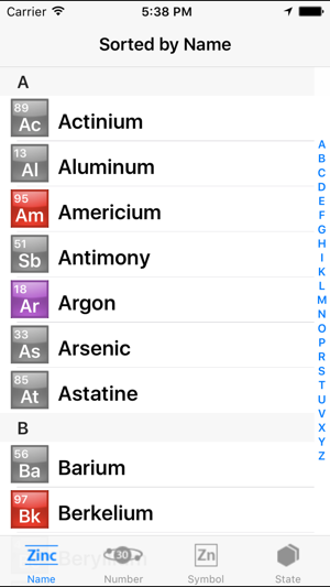 Periodic table of the chemical elements on the app store iphone screenshots urtaz Image collections
