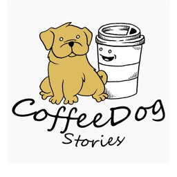 Kaffee the Coffee Dog Stories Sticker Pack
