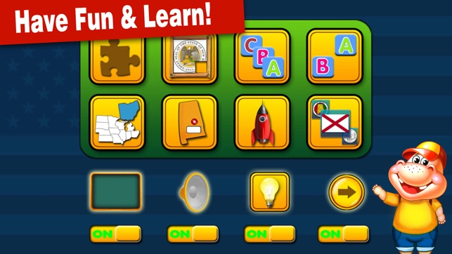 Amazing United States and Capitals Games for kids on the App Store on