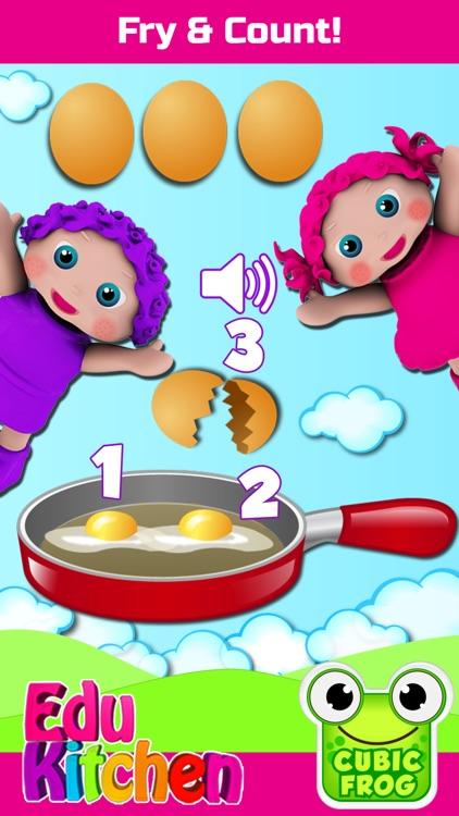 Toddlers Food Games-EduKitchen screenshot-0