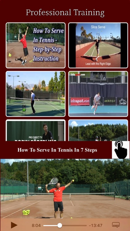 Tennis Coaching - Training Academy for PRO