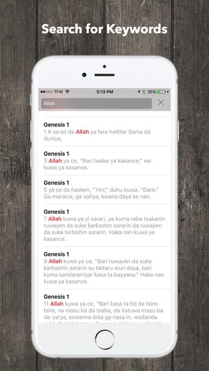 Hausa Bible Audio screenshot-4