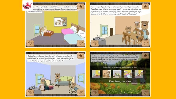 Gouelokkies en die drie beertjies kinderstorie screenshot-4