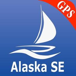 Alaska South East GPS Nautical charts