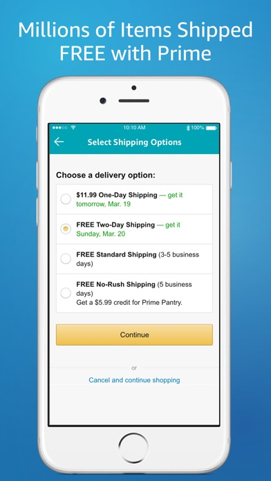 Amazon – Shopping made easy app image