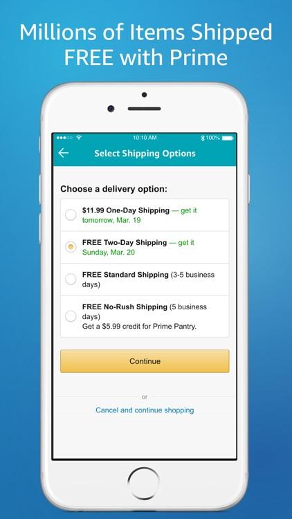 Amazon – Shopping made easy screenshot-4