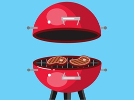 Let's BBQ Barbeque Grilling Sticker Pack