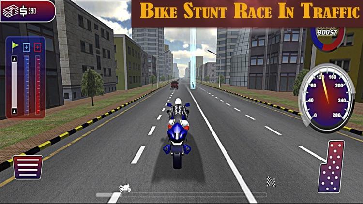 Motorbike Hot Pursuit :Extreme Police Chase screenshot-3
