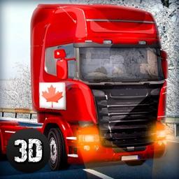 Canada Cargo Truck Driving Simulator 3D