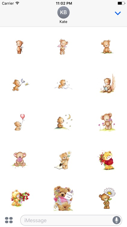 Lovely Teddy - Awesome Teddy Emoji And Stickers