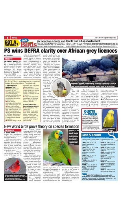 Cage & Aviary Birds screenshot-3