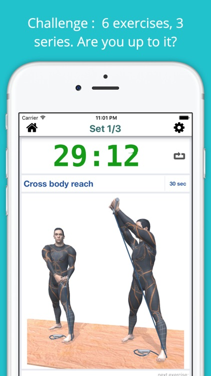 Resistance Band Workout Challenge PRO - Strength screenshot-1