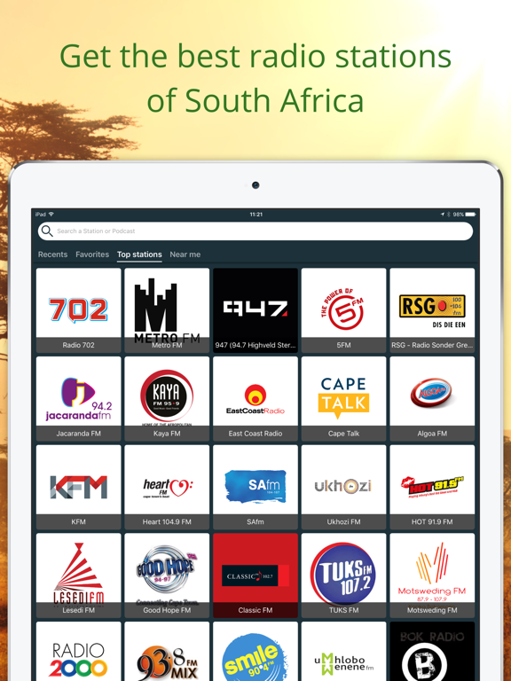 Radio South Africa - FM | AM | App Price Drops