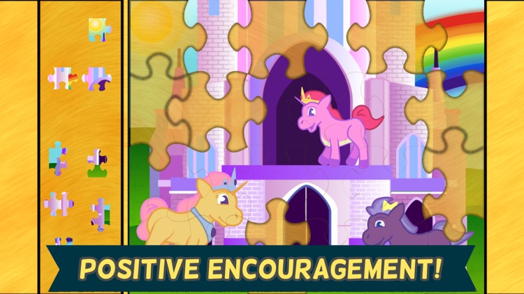 Pony Games for Girls- Little Horse Jigsaw Puzzles screenshot-4