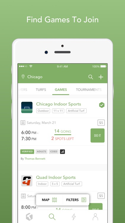Turfmapp - Find Your Soccer