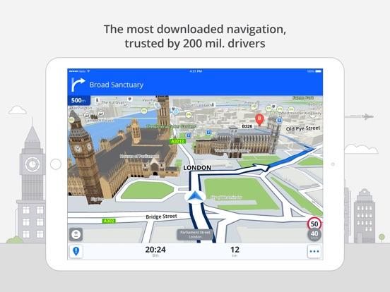 Screenshot #1 for Sygic Brazil: GPS Navigation, Offline Maps